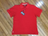 NWT Ping Women's Red Golf Polo Shirt Top Blouse Size XL MSRP $36 New