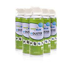 6 x Air Duster Reinigung 400ml Druckluft Spray Druckluftspray Luftreiniger