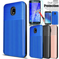 For Samsung Galaxy J7 Crown/Refine/J7 Star/J7 2018 Case Cover+Screen Protectotor