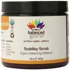 Balanced Guru Stability Body Scrub Exfoliator 18 Oz Organic HUGE