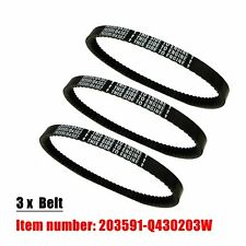 3Pcs Go Kart Belt 30 Series Replaces Comet 203591 Q43203W New