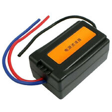 1Pc DC 12V Power Supply Pre-wired Black Plastic Audio Power Filter for Car New
