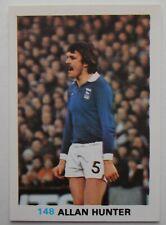 FKS Soccer Stars 1977-1978 NUMBER 148 ALLAN HUNTER