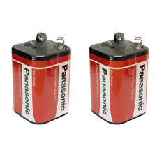 2 Panasonic 4R25 Zinc Chloride 6 V Battery for Torch PJ996