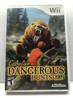 Wii Cabela's Dangerous Hunts 2009 (Nintendo Wii) Complete w/ Manual - Tested
