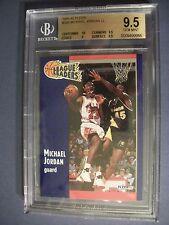 MICHAEL JORDAN 1991-92 Fleer #220 BGS GEM MINT 9.5 Bulls