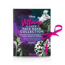 Disney Villains Face Masks Set Of 3 Collection Cruelty Free