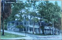 Winona Lake, IN 1910 Postcard: Evangel Hall - Indiana Ind