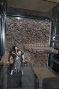 Fully Painted and Assembled 1/12 Scale Action Figure Diorama Background Sandston