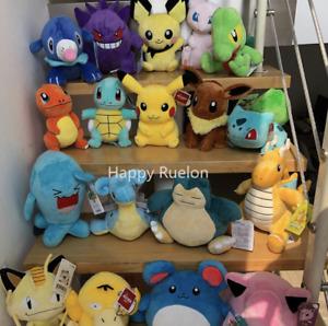 🔥20/25cm Pokemon Charmander Squirtle Pikachu Bulbasaur Jigglypuff Plush Toy🔥🔥