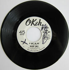 MAJOR LANCE: It Ain't No Use / Girls - Okeh Soul Promo M- (wol)