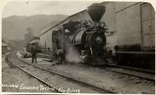 venezuela, Gran Ferrocarril del Táchira, Estacion, Steam Train, Station (1930s)