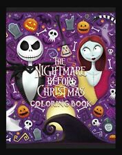 The Nightmare Before Christmas Coloring Book: Fun Coloring (Paperback-2019) r