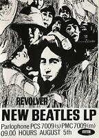 The Beatles Revolver Album UK Import Poster 23.5 x 33