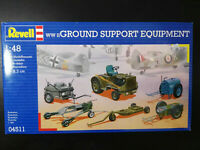 WWII, Ground Support Equipment, Luftwaffe, RAF, Revell, Scale:1/48, Kit 04511