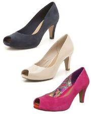 Clarks Mid Heel (1.5-3 in.) Peep Toes Shoes for Women