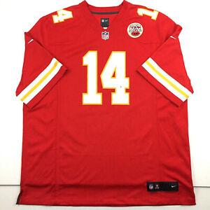 Nike Kansas City Chiefs Mens Jersey Hall #14 NFL On Field Football Red Team 2XL