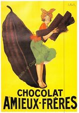 CP Postcard Affiche Publicité CHOCOLAT AMIEUX Edit CLOUET 10347