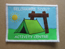 Belchamps Activity Centre Cloth Patch Badge Boy Scouts Scouting L3K C