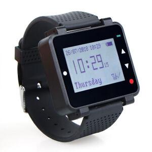 Retekess Wireless Watch Receiver Waiter Calling System for Restaurant 433MHz DE