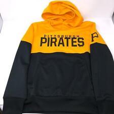 Pittsburgh Pirates hoodie Hooded Sweatshirt MLB Performance Boys Youth Medium