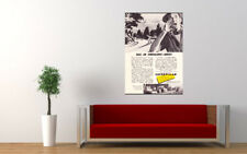 """1957 CATERPILLAR AD AD PRINT WALL POSTER PICTURE 33.1""""x23.4"""""""