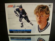 Rare Wayne Gretzky Score 1991 Card #312 Los Angeles Kings NHL Hockey