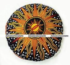 "32""Inches Indian Mandala Style Floor Cushion Cover Puff Home Decor Ombre Boho"