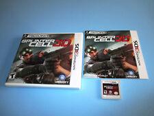 Tom Clancy's Splinter Cell 3D (Nintendo 3DS) XL 2DS Game w/Case & Manual