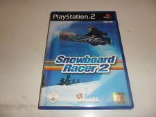 PlayStation 2  PS 2  Snowboard Racer 2