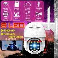 Wireless Wifi 1080P HD CCTV P2P Security PTZ IP Video Camera  In/Outdoor ONVIF