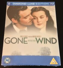 GONE WITH THE WIND Diamond Luxe 2-Disc Blu-Ray 75th Anniv Thin SteelBook Rare!
