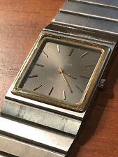 Vintage Concord Mariner SG Quartz Watch Steel/18k Gold bezel
