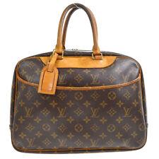 LOUIS VUITTON DEAUVILLE BOWLING BUSINESS HAND BAG PURSE MONOGRAM M47270 60129