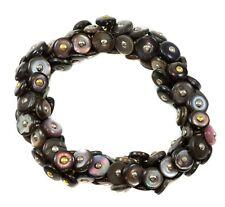 Boot Button Bracelet Vintage Victorian Antique Buttons 6 7 Inch Multiple Colors