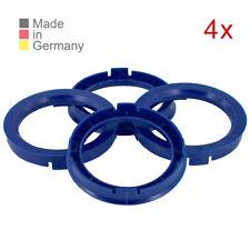 4 Zentrierringe 66,6 x 57,1 Felgen Ringe passend für VW Audi Seat Skoda Mercedes