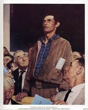 Norman Rockwell Saturday Evening Post Freedom Of Speech