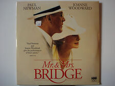 Mr. & Mrs. Bridge 1990 Laser Disc NEW Paul Newman Kyra Sedgwick Joanne Woodward