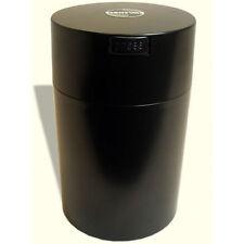 Tightvac CoffeeVac 1.85 L Storage Container Black w/ Black Lid