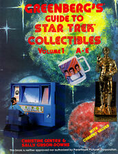 GREENBERG'S Guide to STAR TREK Collectibles Volume 1 A-E