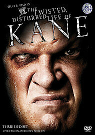 Wwe: The Twisted, Disturbed Life Of Kane [DVD], 3 disc with sleeve free post