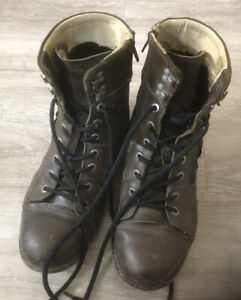 Yellow Cab Industrial Boots, 43, Braun, top Zustand