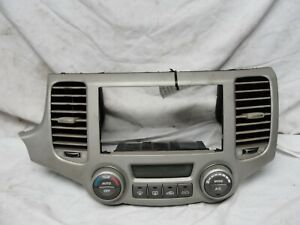 06 07 08 Kia Optima Radio Stereo Climate Temperature Control Trim Bezel Dash OEM