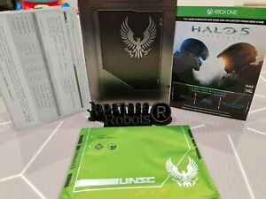 halo 5 guardians G2 steelbook steel metal case from Limited Collector's edition