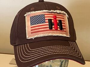 CASE IH Agriculture Patch USA Heavy weight Unique Baseball Golf Hat Cap   NEW