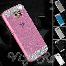 Cover Case Bling Glitter BRILLANTINI Diamonds PER Samsung Galaxy S6 S7 S8 EDGE