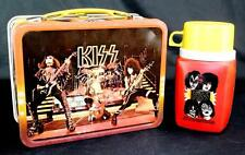 Vintage KISS Lunchbox w/Thermos by King-Seeley 1977 Aucoin EX Overall Condition!