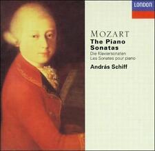 MOZART - Piano Sonatas (Schiff)  CD NEW