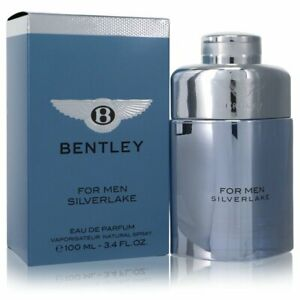 Bentley Silverlake Cologne by Bentley, 3.4 oz Eau De Parfum Spray for Men NEW