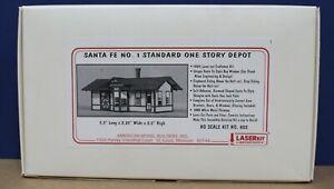 American Model Builders Laserkit 802 Santa Fe  #1 Depot HO Craftsman Kit NIB
